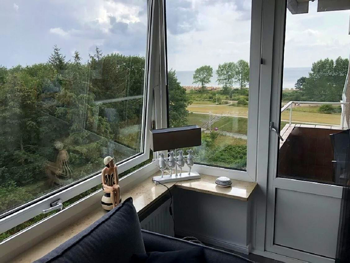 "Appartement ""Strandnest""- mit Meerblick in absoluter Strandnähe"