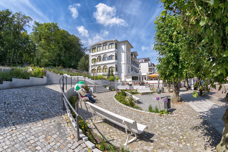 Haus am Meer, Penthaus 8, großer, möbl. Wintergarten, strandnah