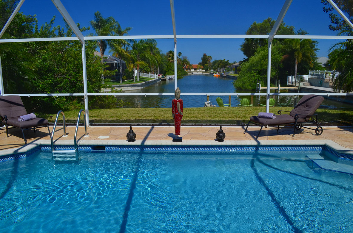 Villa Coral - Villa mit Pool und Bootsdock
