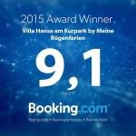Booking Award Villa Hansa